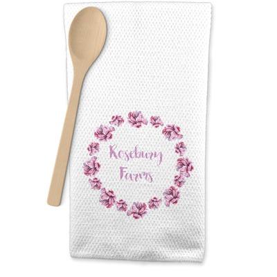 Farm House Waffle Weave Kitchen Towel (Personalized)