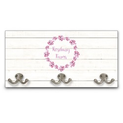Farm House Wall Mounted Coat Rack (Personalized)
