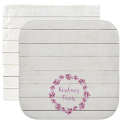 Farm House Facecloth / Wash Cloth (Personalized)