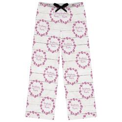 Farm House Womens Pajama Pants (Personalized)
