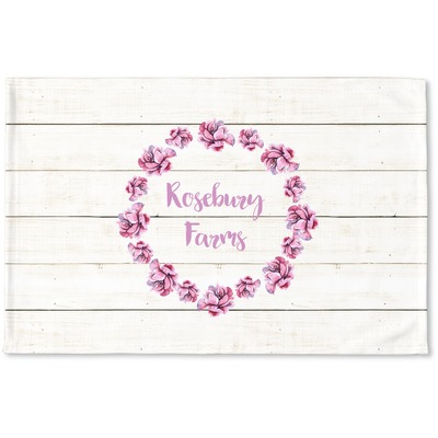 Farm House Woven Mat (Personalized)