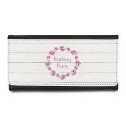 Farm House Leatherette Ladies Wallet (Personalized)