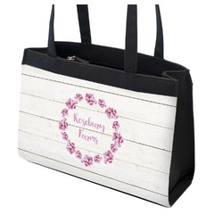 Farm House Zippered Everyday Tote (Personalized)