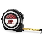 Lumberjack Plaid Tape Measure - 16 Ft (Personalized)