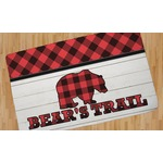 Lumberjack Plaid Area Rug (Personalized)