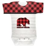 Lumberjack Plaid Baby Bodysuit (Personalized)