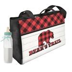 Lumberjack Plaid Diaper Bag (Personalized)