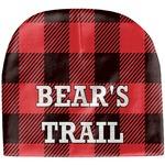 Lumberjack Plaid Baby Hat (Beanie) (Personalized)
