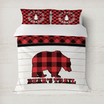Lumberjack Plaid Duvet Covers (Personalized)