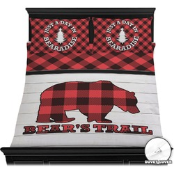 Lumberjack Plaid Duvet Cover Set (Personalized)