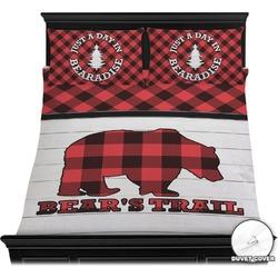 Lumberjack Plaid Duvet Cover Set (Personalized)