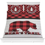 Lumberjack Plaid Comforters (Personalized)