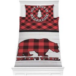 Lumberjack Plaid Comforter Set - Twin XL (Personalized)