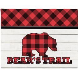 Lumberjack Plaid Placemat (Fabric) (Personalized)