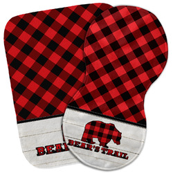 Lumberjack Plaid Burp Cloth (Personalized)