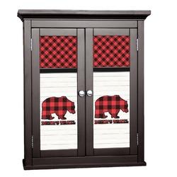 Lumberjack Plaid Cabinet Decal - Custom Size (Personalized)