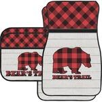 Lumberjack Plaid Car Floor Mats (Personalized)