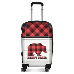 Lumberjack Plaid Suitcase (Personalized)