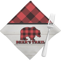 Lumberjack Plaid Napkins (Set of 4) (Personalized)