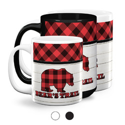 Lumberjack Plaid Coffee Mugs (Personalized)