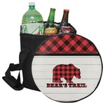 Lumberjack Plaid Collapsible Cooler & Seat (Personalized)