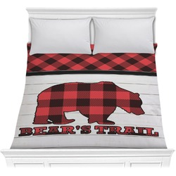 Lumberjack Plaid Comforter (Personalized)