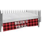 Lumberjack Plaid Crib Skirt (Personalized)