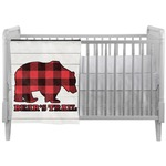 Lumberjack Plaid Crib Comforter / Quilt (Personalized)