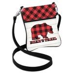 Lumberjack Plaid Cross Body Bag - 2 Sizes (Personalized)