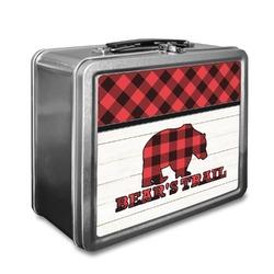 Lumberjack Plaid Lunch Box (Personalized)