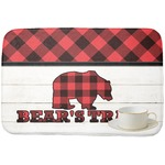 Lumberjack Plaid Dish Drying Mat (Personalized)