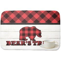 Lumberjack Plaid Dish Drying Mat (Personalized)