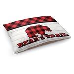 Lumberjack Plaid Dog Bed (Personalized)