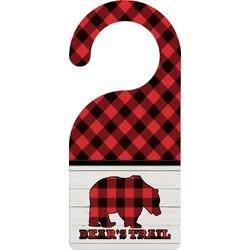 Lumberjack Plaid Door Hanger (Personalized)
