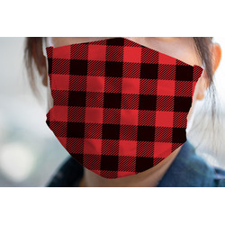 Lumberjack Plaid Face Mask Cover (Personalized)