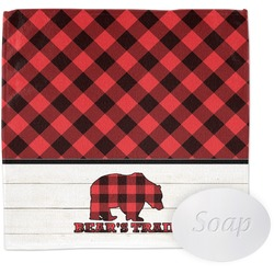 Lumberjack Plaid Wash Cloth (Personalized)