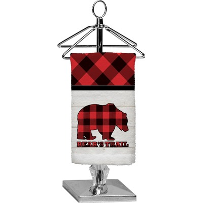 Lumberjack Plaid Finger Tip Towel - Full Print (Personalized)