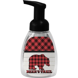 Lumberjack Plaid Foam Soap Dispenser (Personalized)