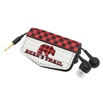 Lumberjack Plaid Genuine Leather Cord Wrap (Personalized)