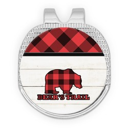 Lumberjack Plaid Golf Ball Marker - Hat Clip