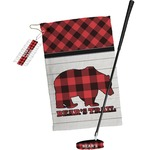 Lumberjack Plaid Golf Towel Gift Set (Personalized)