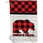 Lumberjack Plaid Golf Towel - Full Print (Personalized)