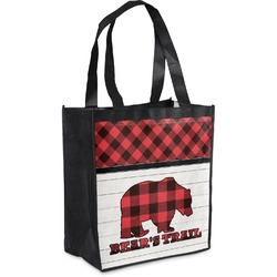 Lumberjack Plaid Grocery Bag (Personalized)