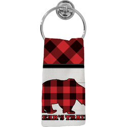 Lumberjack Plaid Hand Towel - Full Print (Personalized)