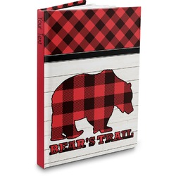 Lumberjack Plaid Hardbound Journal (Personalized)