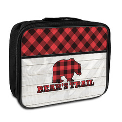 Lumberjack Plaid Insulated Lunch Bag (Personalized)
