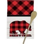 Lumberjack Plaid Kitchen Towel - Full Print (Personalized)