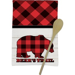 Lumberjack Plaid Kitchen Towel - Full Print (Personalized)