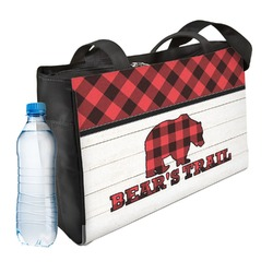 Lumberjack Plaid Ladies Workout Bag (Personalized)