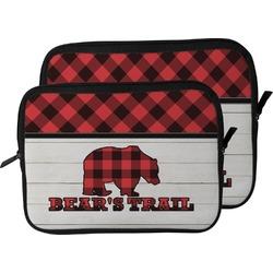 Lumberjack Plaid Laptop Sleeve / Case (Personalized)